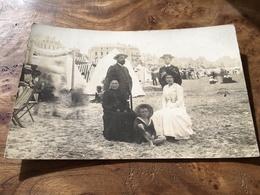 277/A LA PLAGE 1900 PHOTO RODIEN PUTEAUX SEINE - Autres