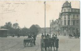 Luik - Liège - L'avenue Rogier - 3540 Wilhelm Hoffmann - 1907 - Luik