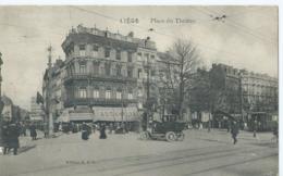 Luik - Liège - Place Du Théâtre - Edition K.L.F. - 1914 - Luik