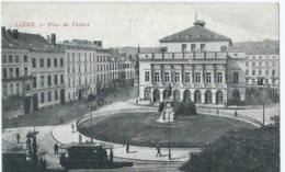 Luik - Liège -Place Du Théâtre - Edit. J.F. - 1906 - Luik