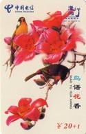 TARJETA TELEFONICA DE CHINA. AVES - BIRDS. HNT-ZZ-025(6-3). (678). - Pájaros