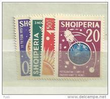 1962 MNH Albania Mi 663-6A,  Postfris - Albanie