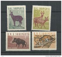 1962 MNH Albania Animals,  Postfris** - Albanie
