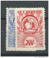 1960 MNH Albania, Postfris - Albanie