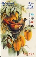 TARJETA TELEFONICA DE CHINA. AVES - BIRDS. HNT-ZZ-025(6-4). (679). - Pájaros