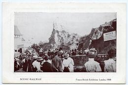 LONDON : FRANCO-BRITISH EXHIBTION, 1908 : SCENIC RAILWAY - London