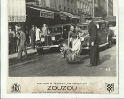 "**JOSEPHINE   BAKER  & Jean  GABIN - Film: **ZOUZOU **    **-- """"  STILL  """"- FOTO -20,5 Cm X 23,5 Cm - Femmes Célèbres"