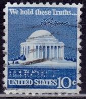 United States, 1973, Jefferson Memorial, 10c, Sc#1510, Used - United States
