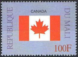 MALI 1999 - 1v - MNH** - Flag Of Canada Flags Drapeaux Fahnen Bandiere Banderas флаги - Timbres