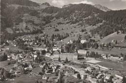 Suisse : VILLARS-sur-OLLON : Vaud : Vue Aérienne  ( Cpsm ) - VD Vaud