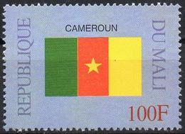 MALI 1999 - 1v - MNH** - Flag Of Cameroon - Flags Drapeaux Fahnen Bandiere Banderas флаги Cameroun Camerun - Timbres