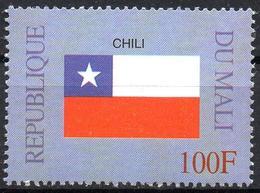 MALI 1999 - 1v - MNH** - Flag Of Chile Chili - Flags Drapeaux Fahnen Bandiere Banderas флаги - Timbres