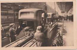 CPA 1931 / Lot De 2 Cartes Automobiles Peugeot / Emboutissage Et Carrosserie / 25 Sochaux Montbéliard - Autres