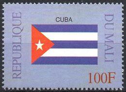 MALI 1999 - 1v - MNH** - Flag Of Cuba Kuba Flags Drapeaux Fahnen Bandiere Banderas флаги - Timbres