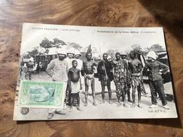 277/ COTE D IVOIRE SOUMISSION DE LA TRIBU ABBEY - Côte-d'Ivoire