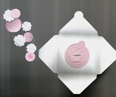 Carte  Chanel Patch Enveloppe - Perfume Cards