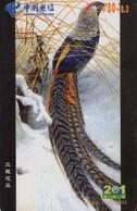 TARJETA TELEFONICA DE CHINA. AVES - BIRDS. XAT-52-(4-3)2003. (647). - Pájaros