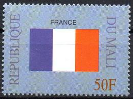 MALI 1999 - 1v - MNH** - Flag Of France Frankreich Flags Drapeaux Fahnen Bandiere Banderas флаги - Timbres
