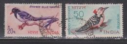 INDIA Scott # 480-1 Used - Birds On Stamps - India