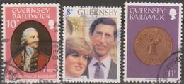 Guernsey 1980-1981 Selezione 3v (o) - Guernesey