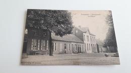 * VORSSELAER Dorpplaats - La Place Oblitéré En 1914 - Vorselaar