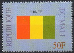 MALI 1999 - 1v - MNH** - Flag Of Guinea Guinée Flags Drapeaux Fahnen Bandiere Banderas флаги - Timbres