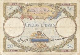 Billet 50 F L.O. Merson Du 22-2-1934 FAY 16.05 Alph. B.15019 - 1871-1952 Anciens Francs Circulés Au XXème