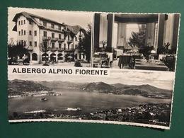Cartolina Albergo Alpino Fiorente - Sala Da Pranzo - Panorama - 1960 - Verbania