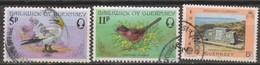 Guernsey 1976 Selezione 3v (o) - Guernesey