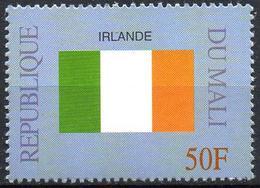 MALI 1999 - 1v - MNH** - Flag Of Ireland Irelande Irland Flags Drapeaux Fahnen Bandiere Banderas флаги - Timbres