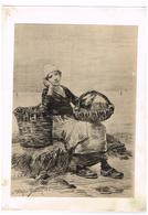 Style Lithographie  Ulysse Butin 82 - Pêche Mes Bretagne ? - Old Paper