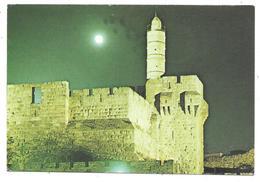 JERUSALEM - THE CITADEL AT NIGHT - I. Amad N° 9 - Israel
