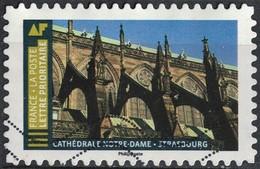 France 2019 Oblitéré Used Histoire De Styles Architecture Cathédrale Notre Dame Strasbourg - France