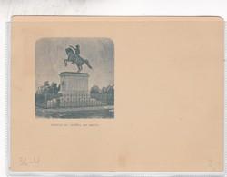 ESTATUA DEL GENRAL SAN MARTIN. ENTERO POSTAL ENTIER UNUSED SIN CIRCULACION CIRCA 1907 - BLEUP - Ganzsachen