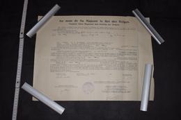 Certificat D'études Gréco-Latines Belgique Seraing 1928 35cm X 46cm - Diploma & School Reports