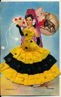 ANDALUSIEN / Spanien - 1961 , Tracht - Ansichtskarten