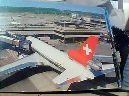 SUISSE SVIZZERA SWITZERLAND -SCHWEIZ ZURICH  AIRPORT  AEREOPORTO AEREO AVION   N1980 HA7989 - ZH Zurich