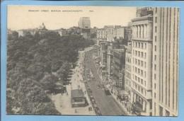 "Boston (Massachusetts) Tremont Street 2 Scans ""John J. Flanagan Jr. 272 Cherry Street West Newton 65 Massachusetts"" - Boston"