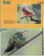 TARJETA TELEFONICA DE CHINA. AVES - BIRDS. GLZN-05-1(4-2). (612). - Pájaros