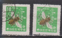 KOREA Scott # 302, 377 Used - Korea, South