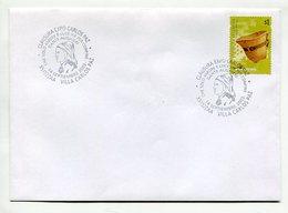 DANTE ALIGHIERI, CLAUSURA EXPO CARLOS PAZ, SOBRE MATASELLO ARGENTINA 2003 SPC ENVELOPE - LILHU - Ecrivains