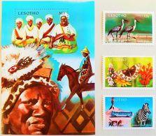 # Lesotho 1991**Mi.911-14  Tourism Promotion , MNH  [25;65] - Geographie