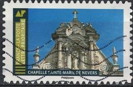 France 2019 Oblitéré Used Histoire De Styles Architecture Chapelle Sainte Marie De Nevers - France