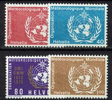 Schweiz 1973 // Mi. 10/13 ** OMM/WMO - Switzerland