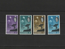 Ascension Island 1966 Space Set Of 4 MNH - Space