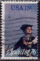 United States, 1976, Drummer Boy, 13c, Sc#1629, Used - United States