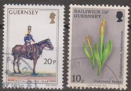 Guernsey 1975 Selezione 2v (o) - Guernesey