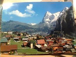 SUISSE SVIZZERA SWITZERLAND -SCHWEIZ Mürren - Eiger Und Mönch  VB1970 HA7993 - BE Berne