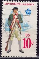 United States, 1975, Continental Marines Uniform, 10c, Sc#1567, Used - United States