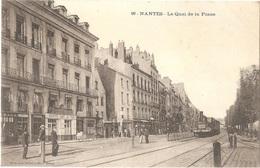 Dépt 44 - NANTES - Le Quai De La Fosse - (Café Du Port) - Phototypie Vassellier, Nantes, N° 99 - Nantes